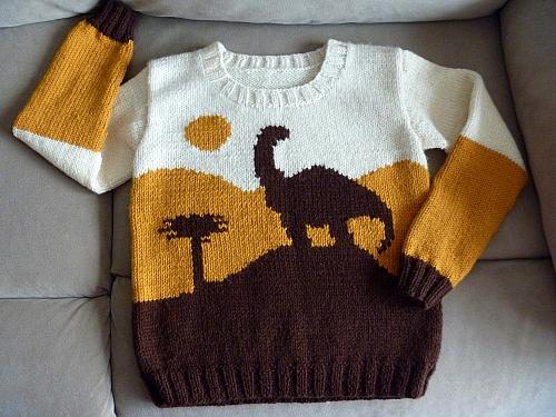 DinosaurSweater